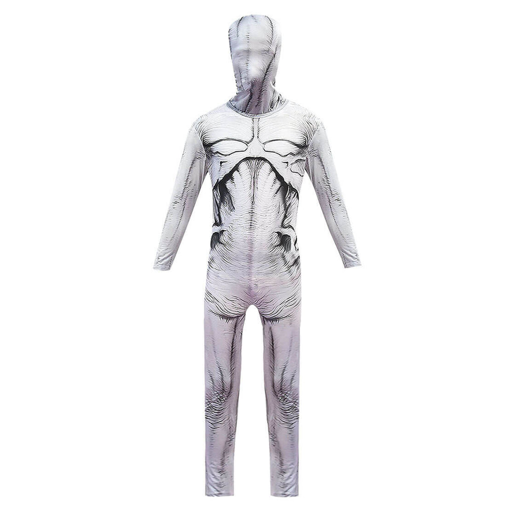 Stranger Things Kids Adults Demogorgon Cannibal Flower Bodysuit Zentai Halloween Costume Mask - ACcosplay