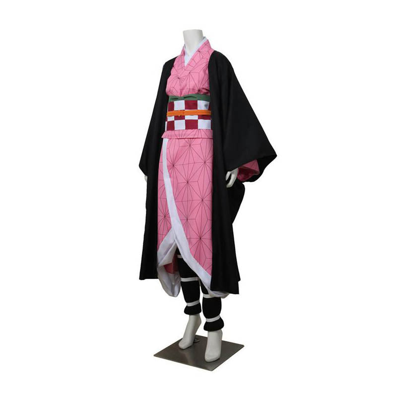 Demon Slayer Kimetsu No Yaiba Kamado Nezuko Cosplay Costume ACcosplay