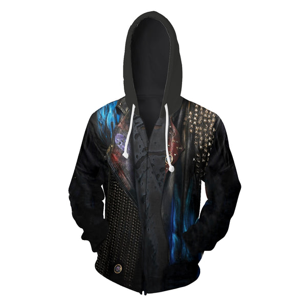 Descendants Jacket Hoodie Adult 3D Hoodie Sweatshirt Cosplay Uniex - ACcosplay