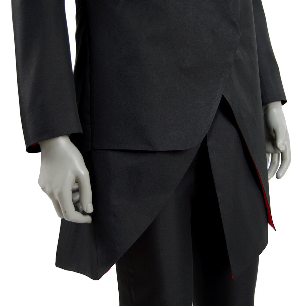 Doctor Who Episodes The Doctor Falls The Master Black Coat Jacket Costume - ACcosplay