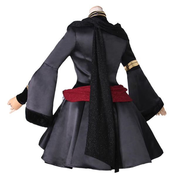 Fate Grand Order Black Formal Dress Uniform Lancer Ereshkigal Cosplay Costume - ACcosplay
