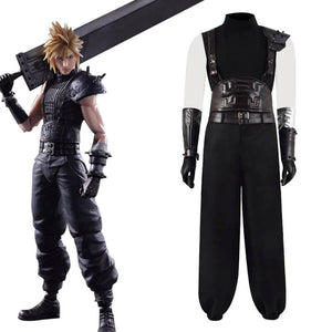 Final Fantasy VII Remake Cloud Strife Cosplay Costume For Sale 2019 ACcospaly - ACcosplay