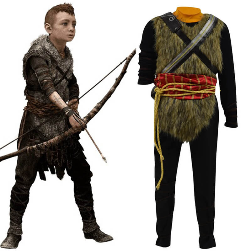 ACcosplay God of War 4 Atreus Cosplay Costume Halloween Guide - ACcosplay