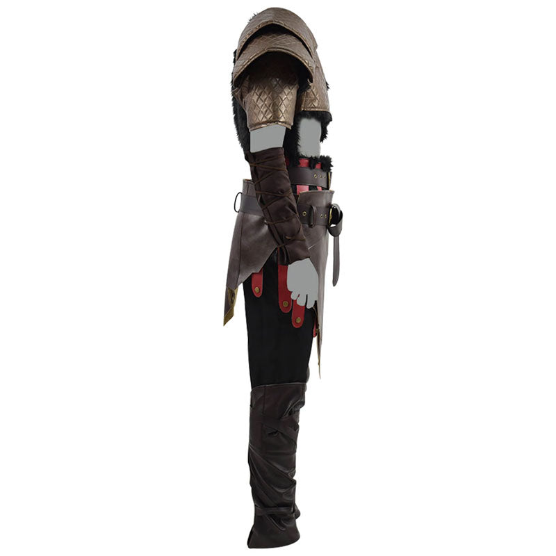 God of War 4 Kratos Cosplay Costume Halloween Outfit For Adults - ACcosplay