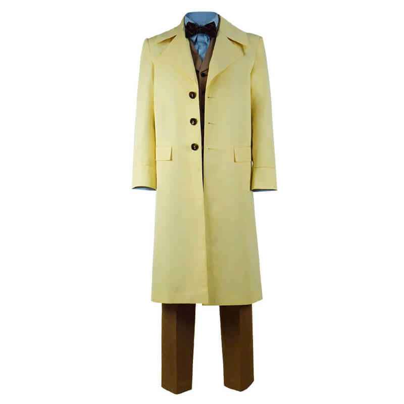Good Omens Michael Sheen Coat Outfit Full Set Cosplay Costume Halloween 2019 - ACcosplay