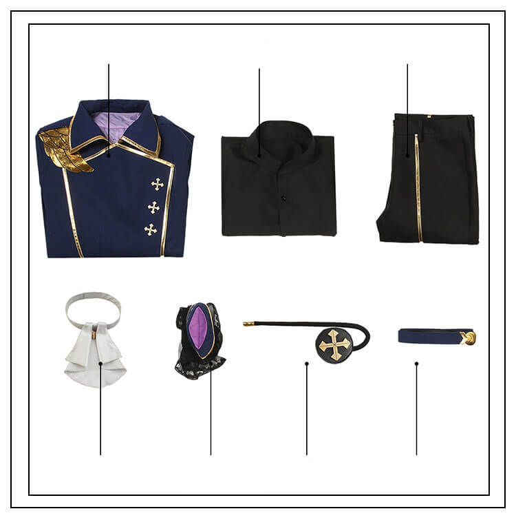 Ensemble Stars Cacophony Whirling Horror Night Halloween Knights Izumi Sena Cosplay Costume - ACcosplay