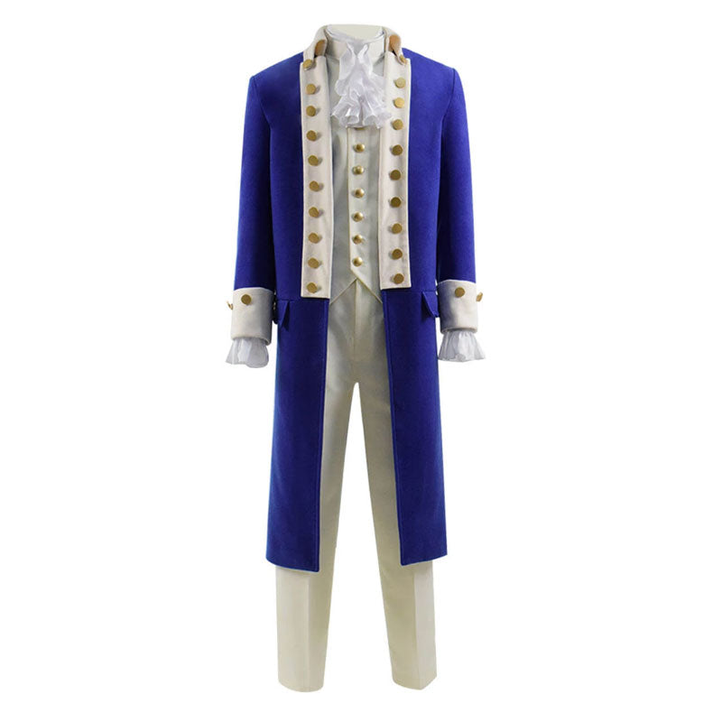 Hamilton Aaron Burr Cosplay Costume Stage Costume Suit for Show Alexander Hamilton - ACcosplay