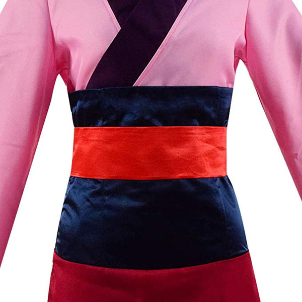 Chinese Heroine Hua Mulan Dress Princess Women Halloween Outfit Cosplay Costume - ACcosplay