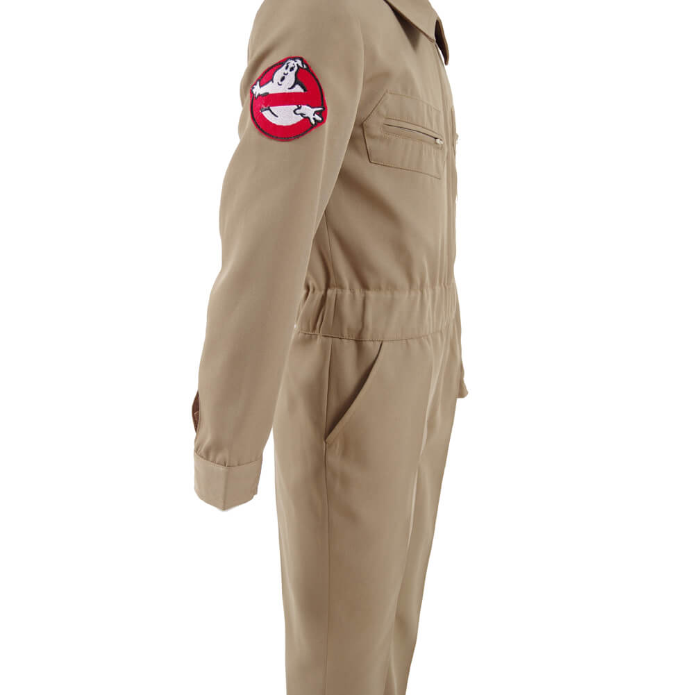 Stranger Things 2 Kids Adults Homemade Ghostbusters Jumpsuit Cosplay Costume Ideas - ACcosplay
