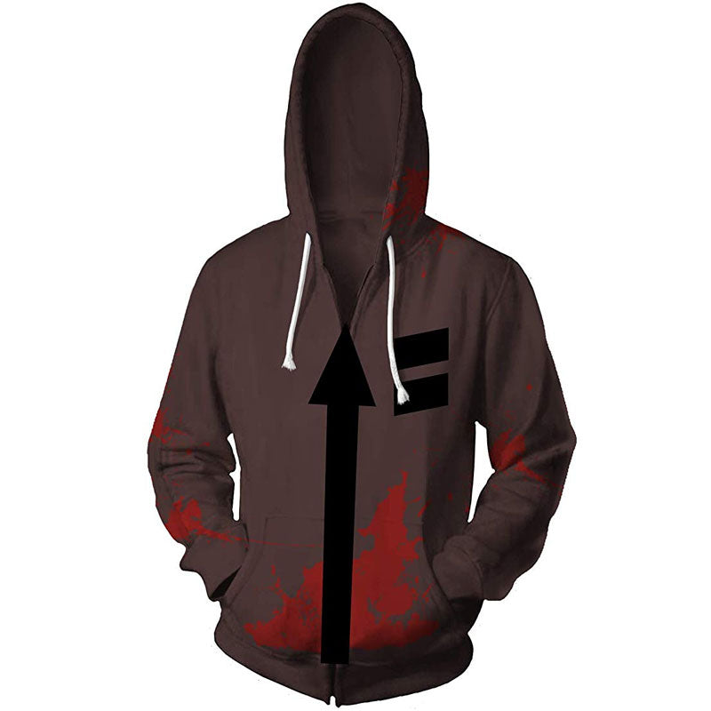 ACcosplay Angels of Death Zack Jacket Halloween Hot Game Isaac Foster Cosplay Costume - ACcosplay