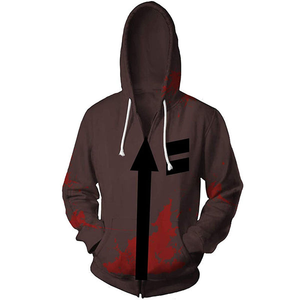ACcosplay Angels of Death Zack Jacket Halloween Hot Game Isaac Foster Cosplay Costume