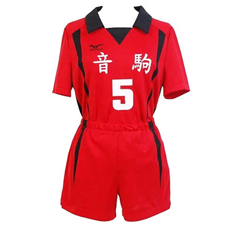 Haikyuu Nekoma High School Volleyball Uniform Kozume Kenma Cosplay Costume - ACcosplay
