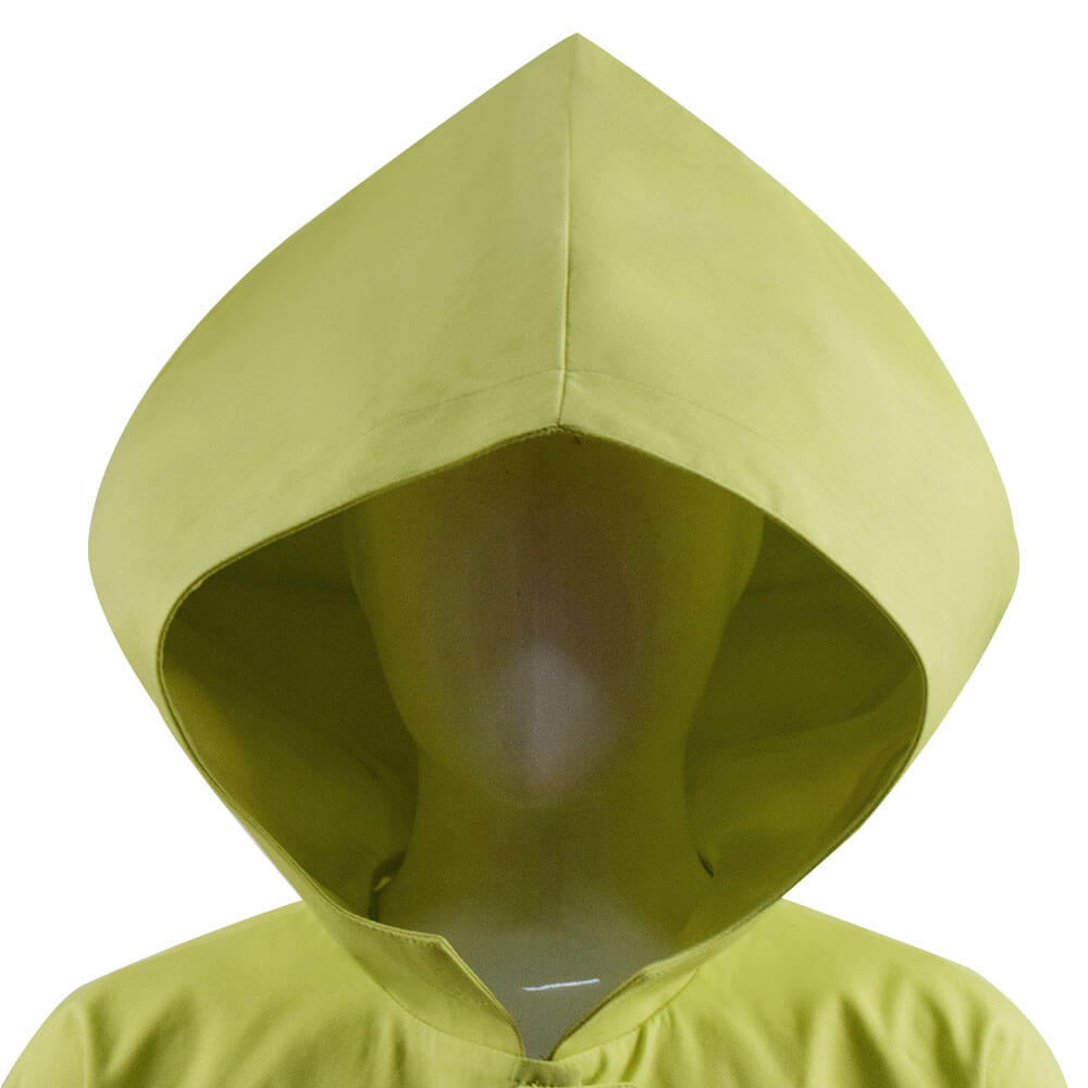 Kids Adults Little Nightmares Six Raincoat Coat Hooded Jacket Cosplay Costume
