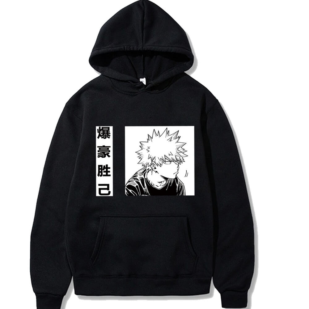 Unisex My Hero Academia Hoodie Boku No Hero Cosplay Costume Jacket Sweatshirt