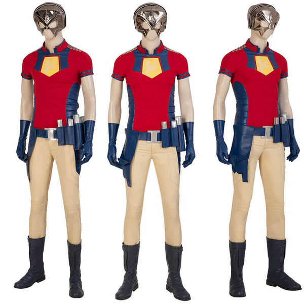 Peacemaker Cosplay 2021 The Suicide Squad John Cena Cosplay Costume