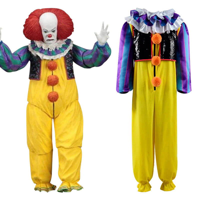 Accosplay Stephen King's It Clown Figures Pennywise Anime Cosaply Costume - ACcosplay