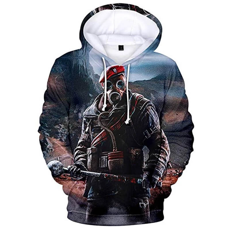 Rainbow Hoodie 3D Printed Hooded Pullover Sweatshirt Jacket ACcospaly - ACcosplay