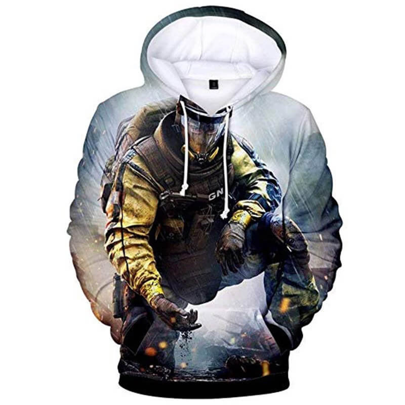 Rainbow Sweatshirt Hoodie 3D Printed Hooded Pullover Jacket - ACcosplay