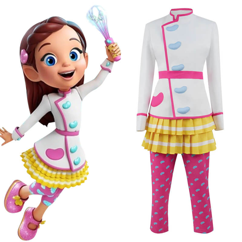 Rubie's Butterbean's Cafe Deluxe Child Girls Costumes For Halloween ACcosplay - ACcosplay