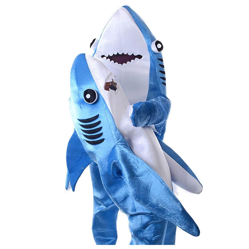 Kids Children Shark Costumes Halloween Funny Animal Blue Cosplay ACcosplay - ACcosplay