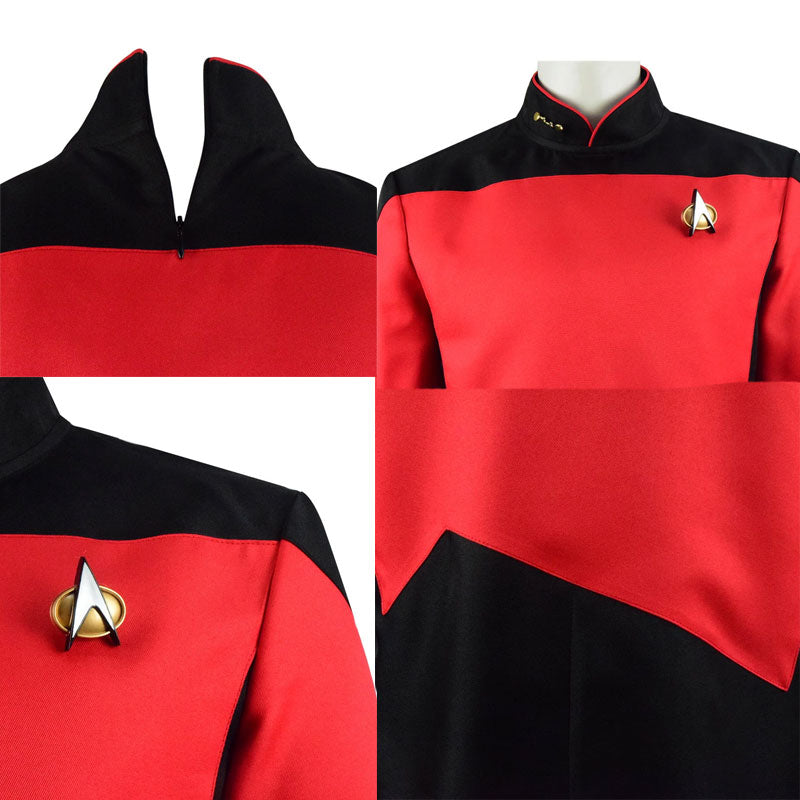 Star Trek The Next Generation Captain Picard Uniform Costume Adult Men - ACcosplay
