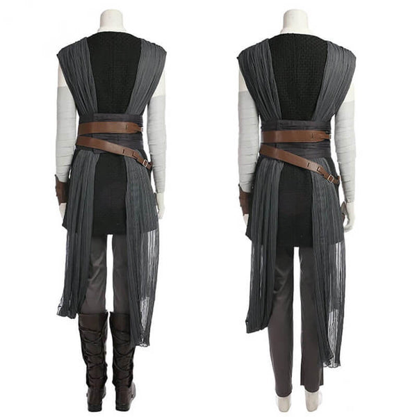 Star Wars VIII The Last Jedi Rey Cosplay Costume - ACcosplay