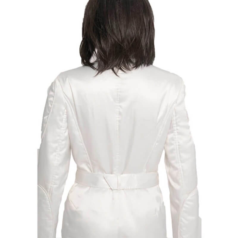 Star Wars A New Hope Princess Leia Organa White Jumpsuit Cosplay Costume - ACcosplay