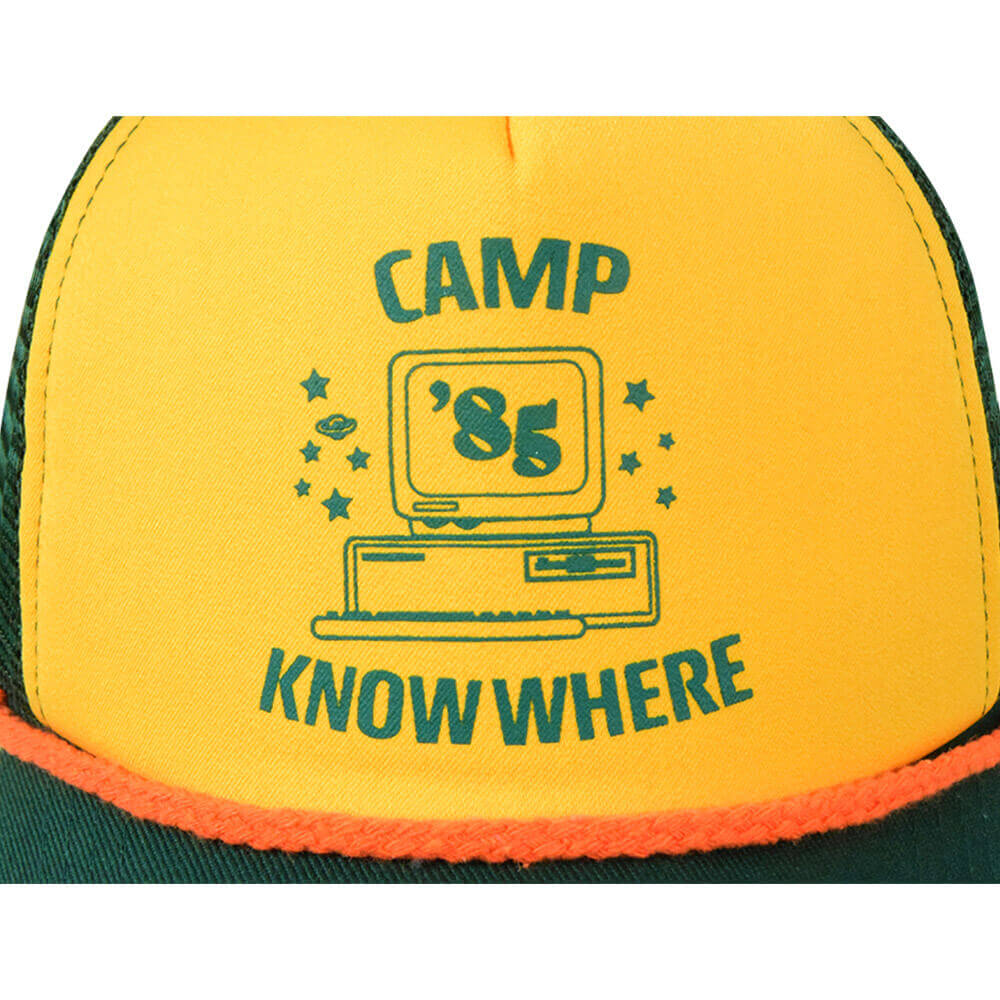 Stranger Things Adult Dustin Baseball Hat KidsCamp Know Where Adjustable Cap Cosplay