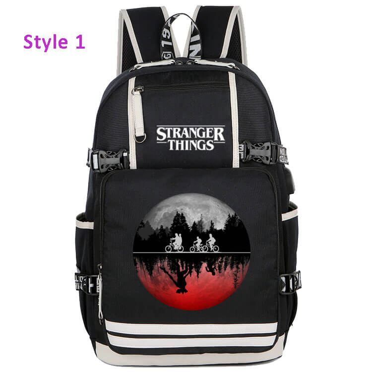 Stranger Things Backpack School Bag Bookbag for Children Kids Boys - ACcosplay