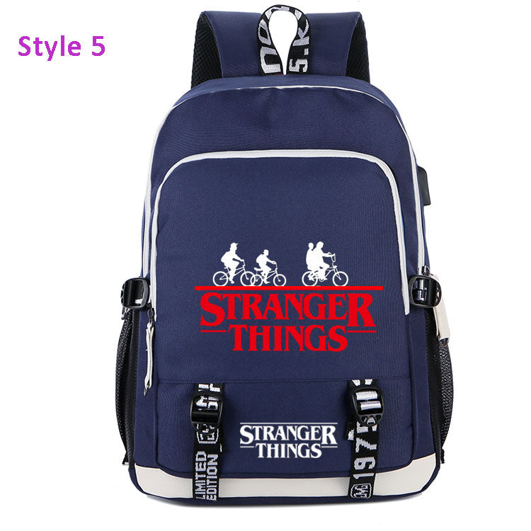 Stranger Things Backpack School Bag Book Bag Ideas For Sale - ACcosplay