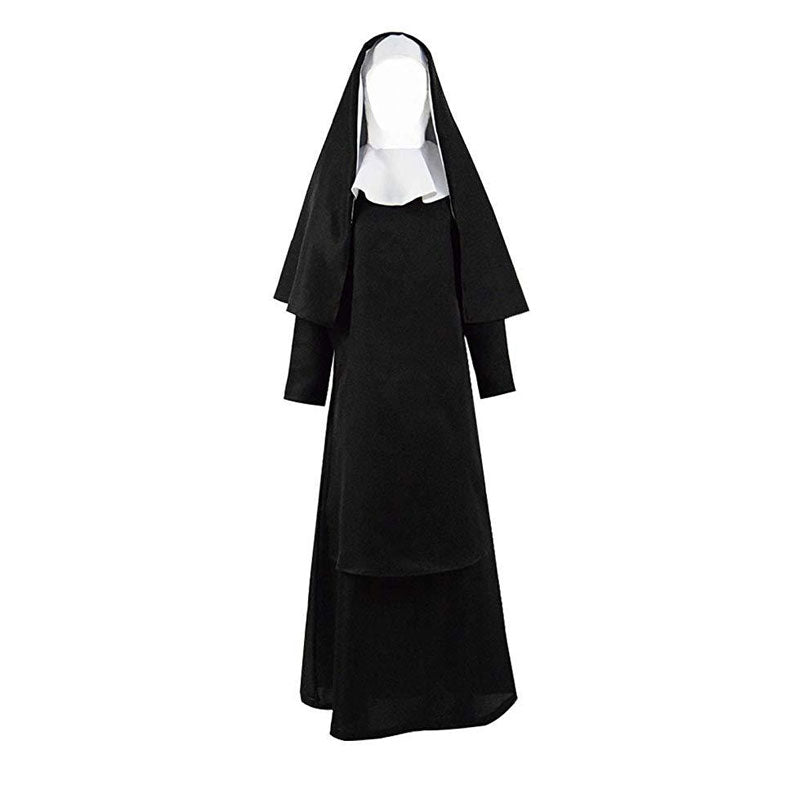 The Nun Halloween Costume Plus Size Women Men Scary Costume - ACcosplay