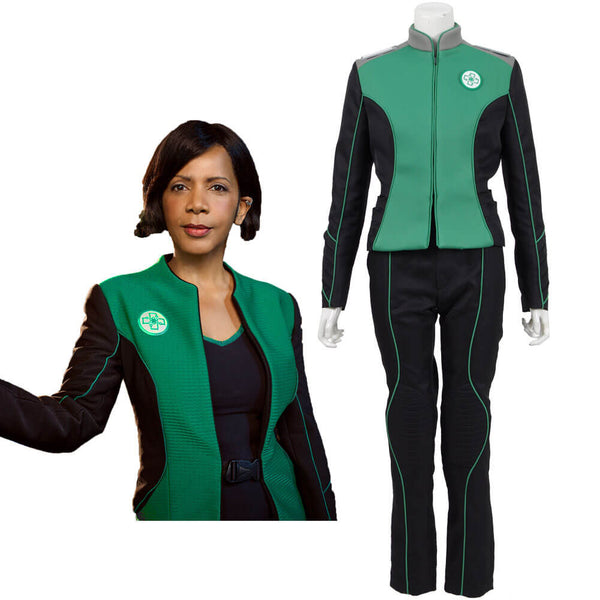The Orville Costume Green Medical Department Uniform For Adults - ACcosplay