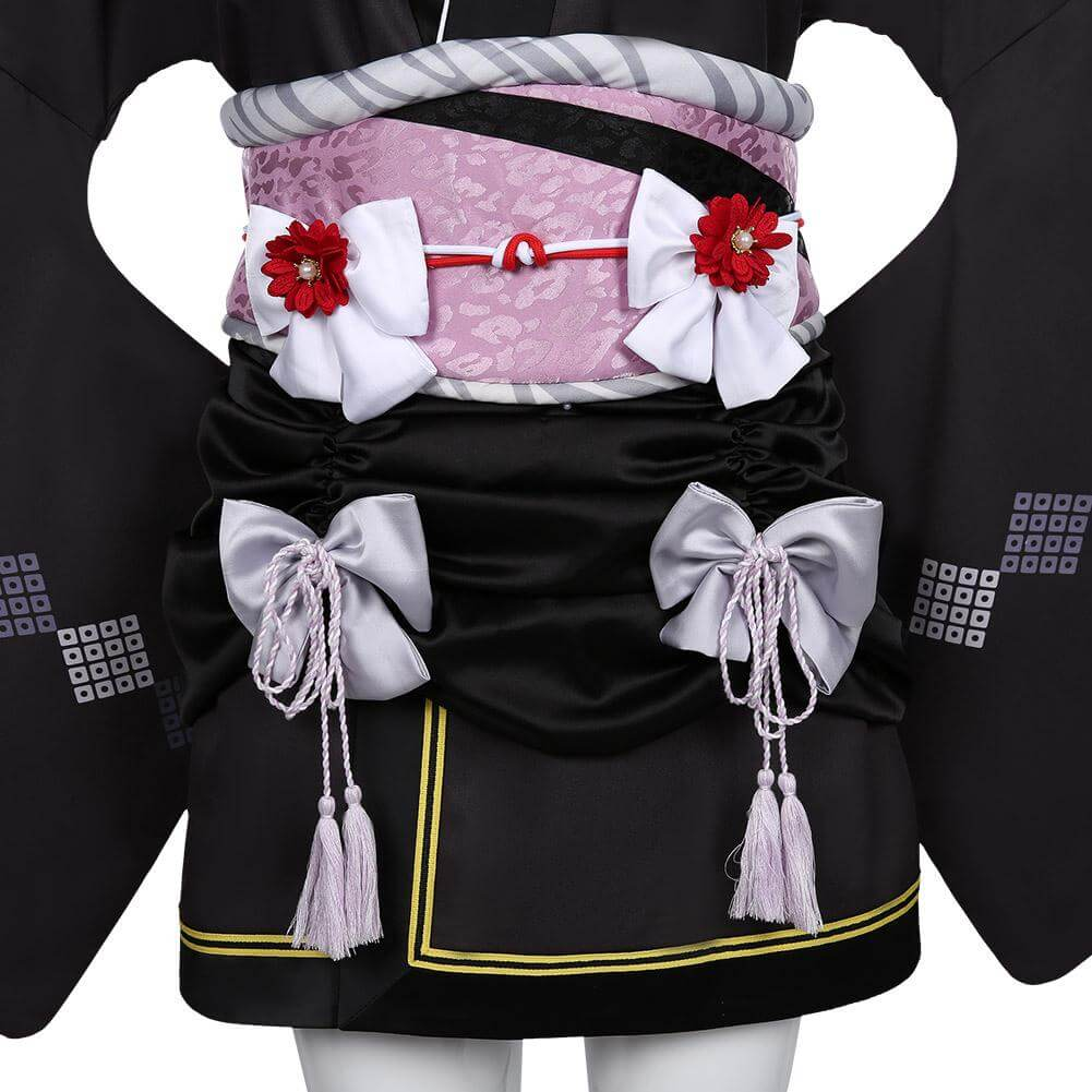 Game Final Fantasy VII FF7 Remake Tifa Lockhart Kimono Cosplay Costume Outfit