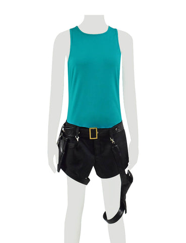 Tomb Raider Lara Croft Outfit Full Set Suits Cosplay Halloween Costume