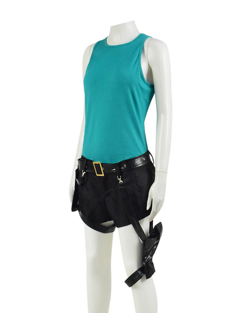 Tomb Raider Lara Croft Outfit Full Set Suits Cosplay Halloween Costume - ACcosplay