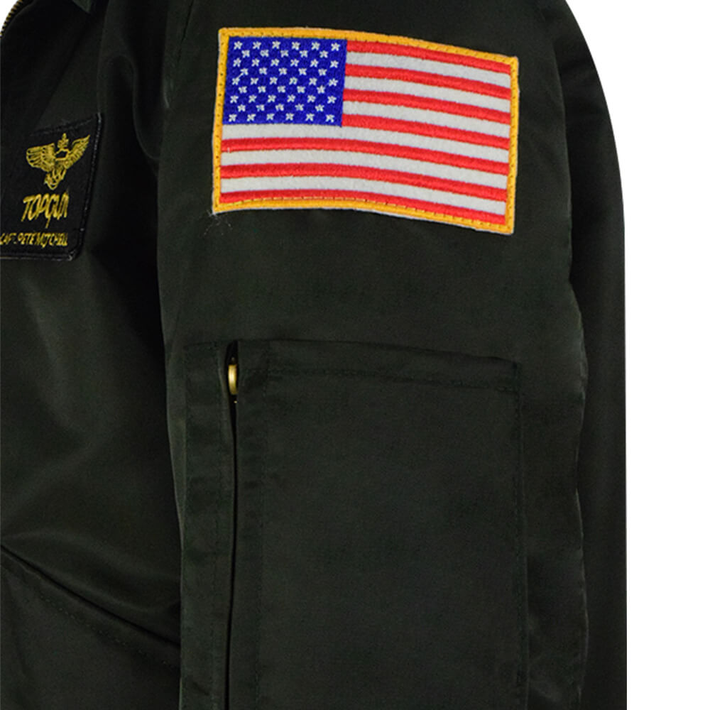 Top Gun Maverick Halloween Costume Nylon Jacket For Sale 2020 - ACcosplay