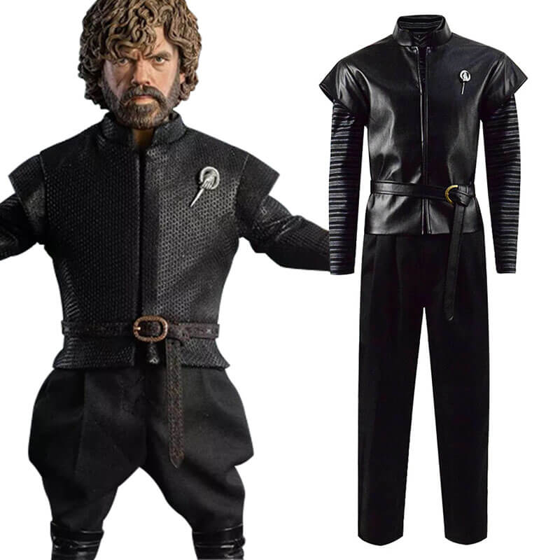 Game Of Thrones Season 8 Tyrion Lannister Cosplay Outfit Costume Adult Halloween Costume - ACcosplay