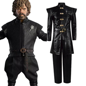 Game of Thrones Tyrion Lannister Leather Cosplay Costume Men Halloween For Sale - ACcosplay