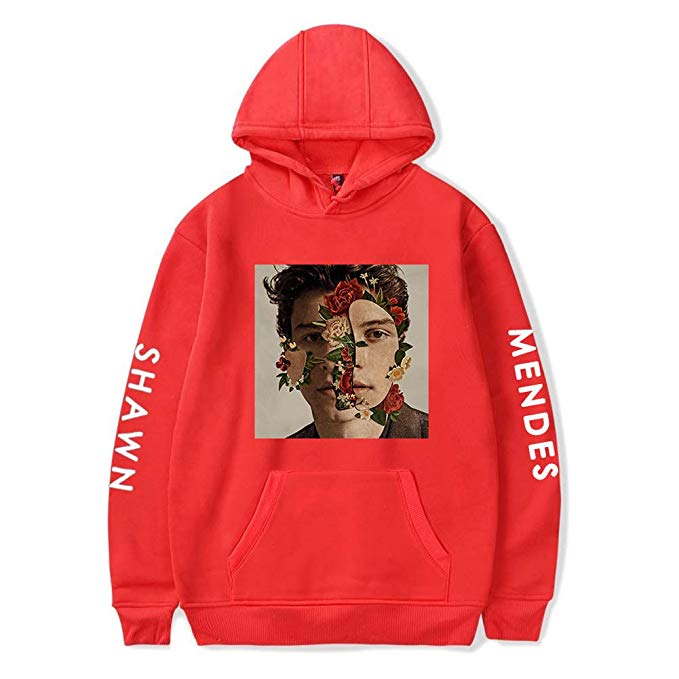 Unisex Shawn Mendes Hoodies Pocket Long Sleeve Sweatshirts Pullover Jacket - ACcosplay