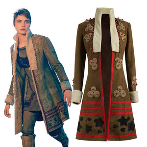 ACcosplay Carnival Row Season 1 Vignette Stonemoss Suede Jacket Costume