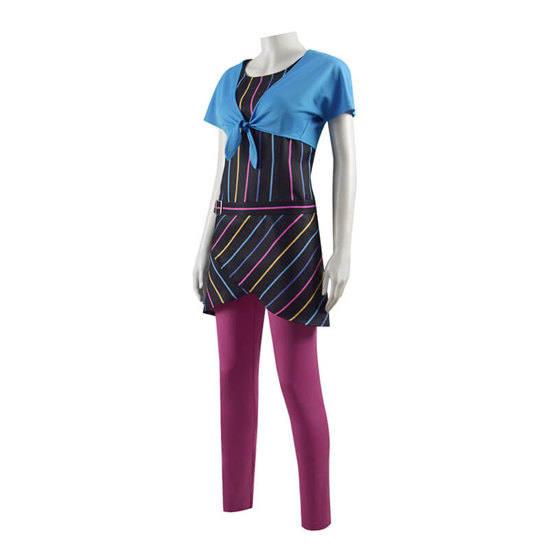 2021 Wandavision 80s Agnes Outfit Cosplay Costume ACcosplay