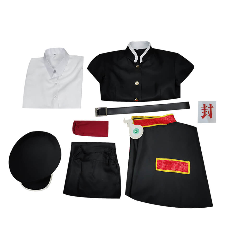 Toilet Bound Hanako Kun Hanako Yugi Amane Uniform Comic Cosplay Costume - ACcosplay