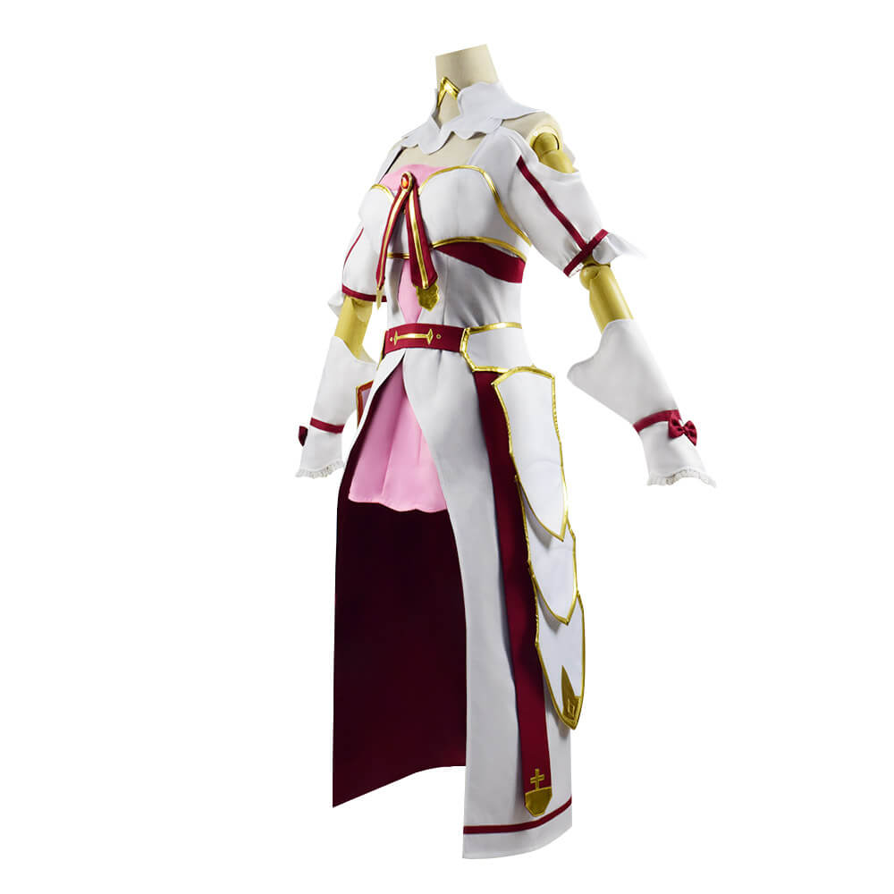 Sword Art Online SAO Alicization Lycoris Asuna Yuuki Cosplay Costume Women
