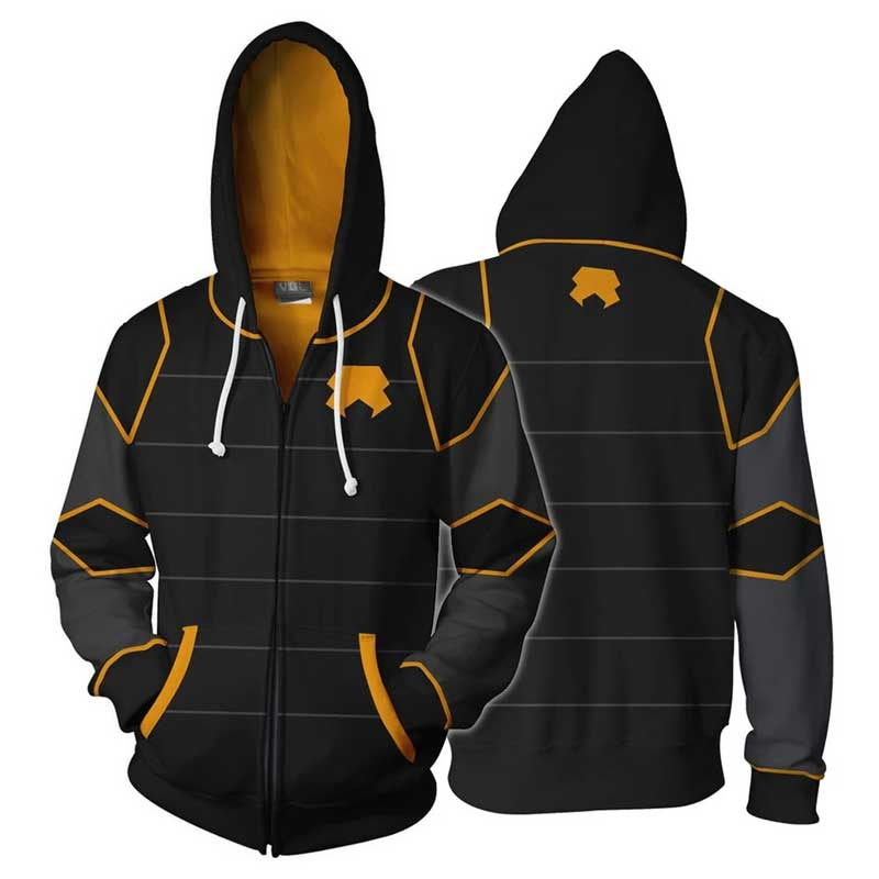 Avatar The Last Airbender Zipper Jacket Coat 3D Printed Hoodie Jacket Adults Unisex