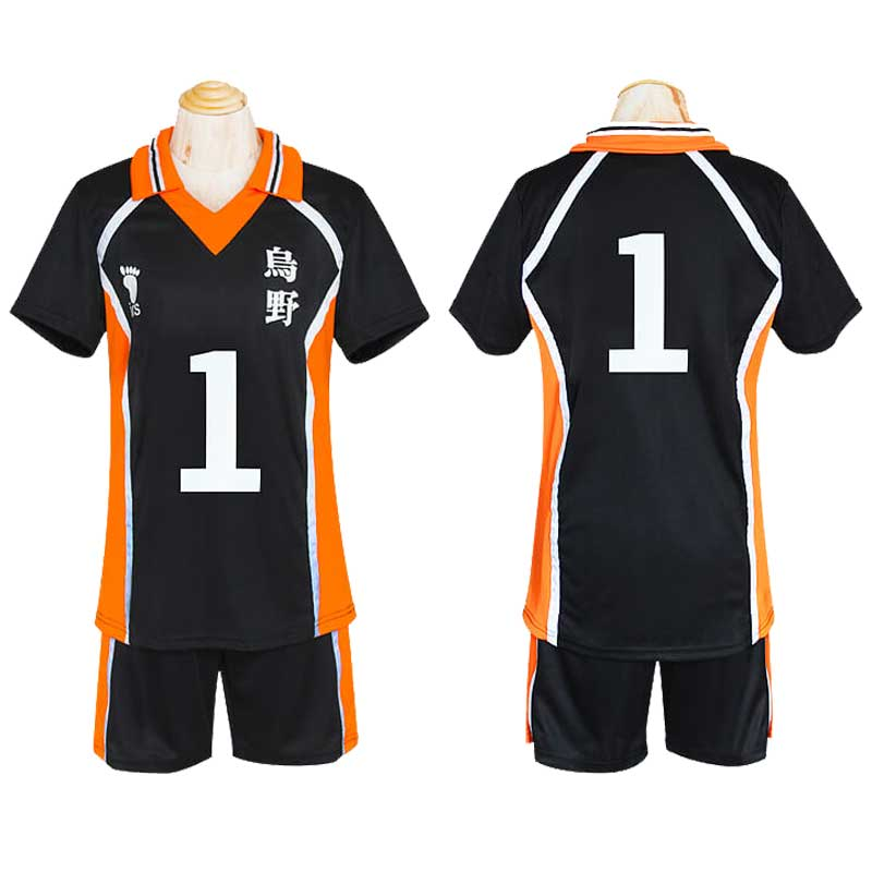 Haikyuu Karasuno School Uniform Hinata Shoyo Cosplay Costume - ACcosplay