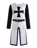 Medieval Templar Knight Tunic Crusader Halloween Cosplay Costumes Cloak Kids Mens - ACcosplay