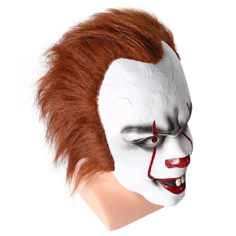 Stephen King's It Pennywise Clown Halloween Mask Latex Scary Mask - ACcosplay