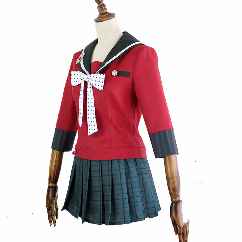Danganronpa V3 Killing Harmony Maki Harukawa School Uniform Cosplay Costume