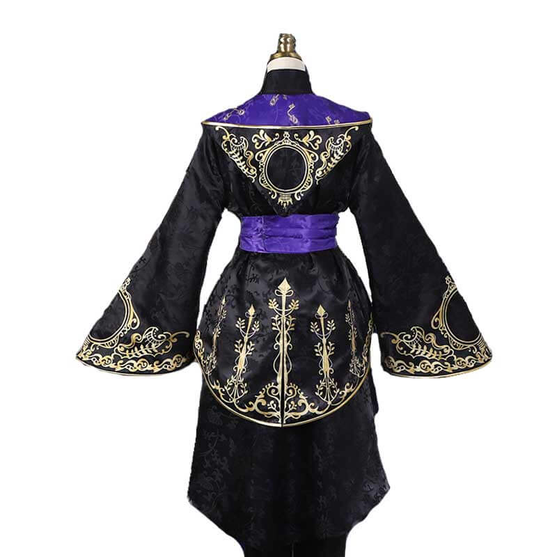 Disney Twisted Wonderland Azul Ashengrotto Cosplay Costume Adults Geremonial Robes Full Set Outfit