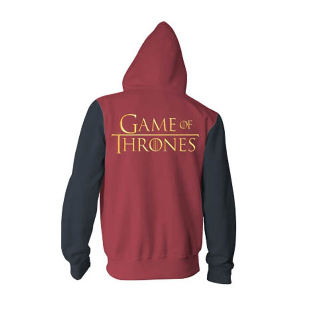 GoT Tyrion Lannister 3D Printing Cosplay Zip Up Hoodie Hooded Sweatshirt Coat Jacket Blazer - ACcosplay